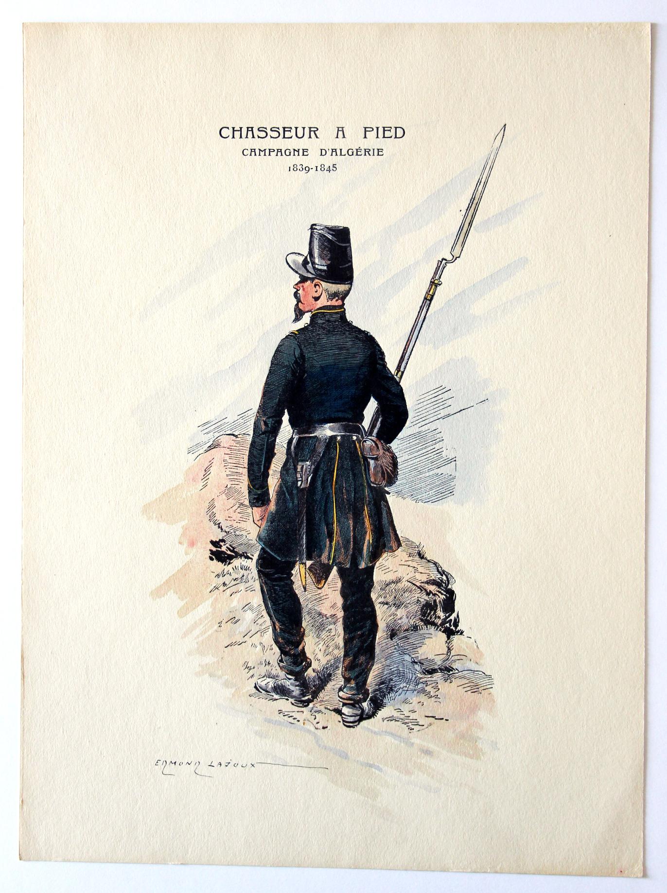 Chasseur à Pied 1839/1845 – Uniforme