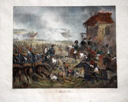 Bataille de Fleurus 1815 - Charlet - Empire - Bataille de Ligny