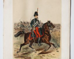 Uniforme Second Empire Chasseur à Cheval - François Hippolyte Lalaisse