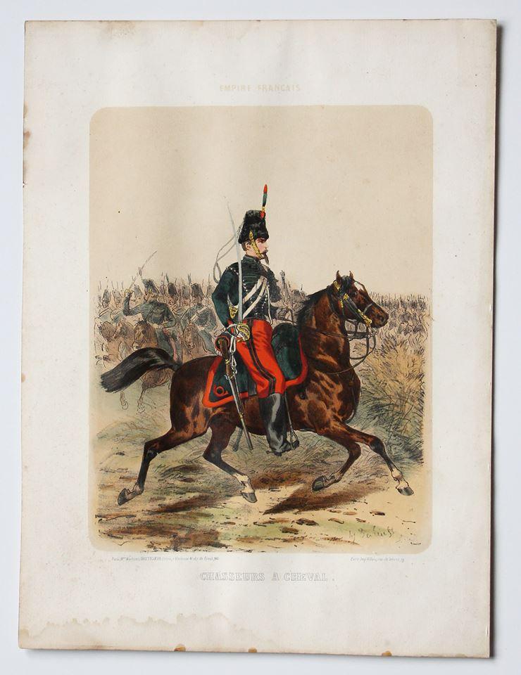 Uniforme Second Empire Chasseur à Cheval - François Hippolyte Lalaisse