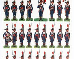 Petits Soldats de Strasbourg - Planches de Georges Klaenschi - Pontonniers de Strasbourg 1793