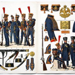 2 Planches sur l'armée Française N°32/31 - Marins de la Garde - Lucien Rousselot