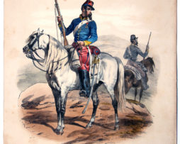 Uniforme Second Empire Chasseur d'Afrique - François Hippolyte Lalaisse