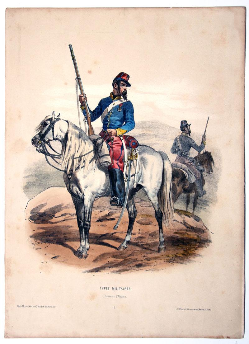 Uniforme Second Empire Chasseur d'Afrique - François Hippolyte Lalaisse