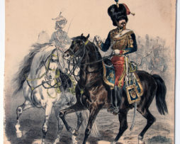 Uniforme Second Empire Guides de la Garde - François Hippolyte Lalaisse