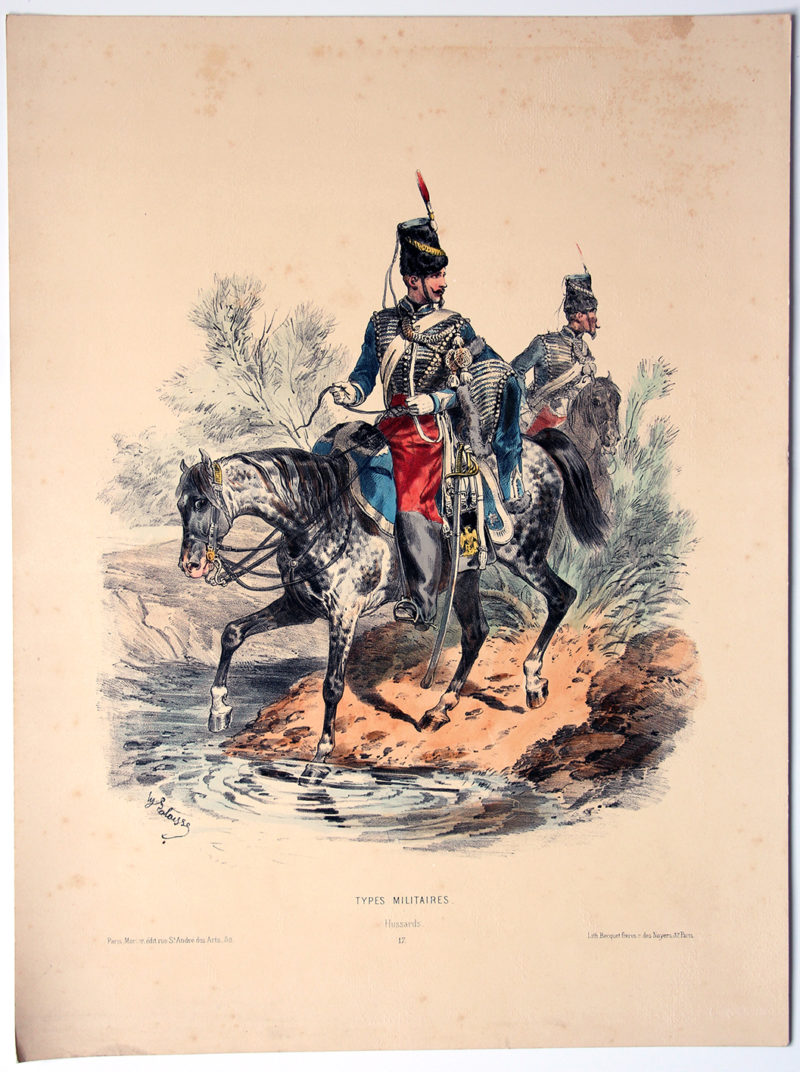 Uniforme Second Empire Hussards - François Hippolyte Lalaisse