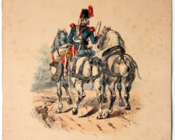 Uniforme Second Train des Equipages - François Hippolyte Lalaisse