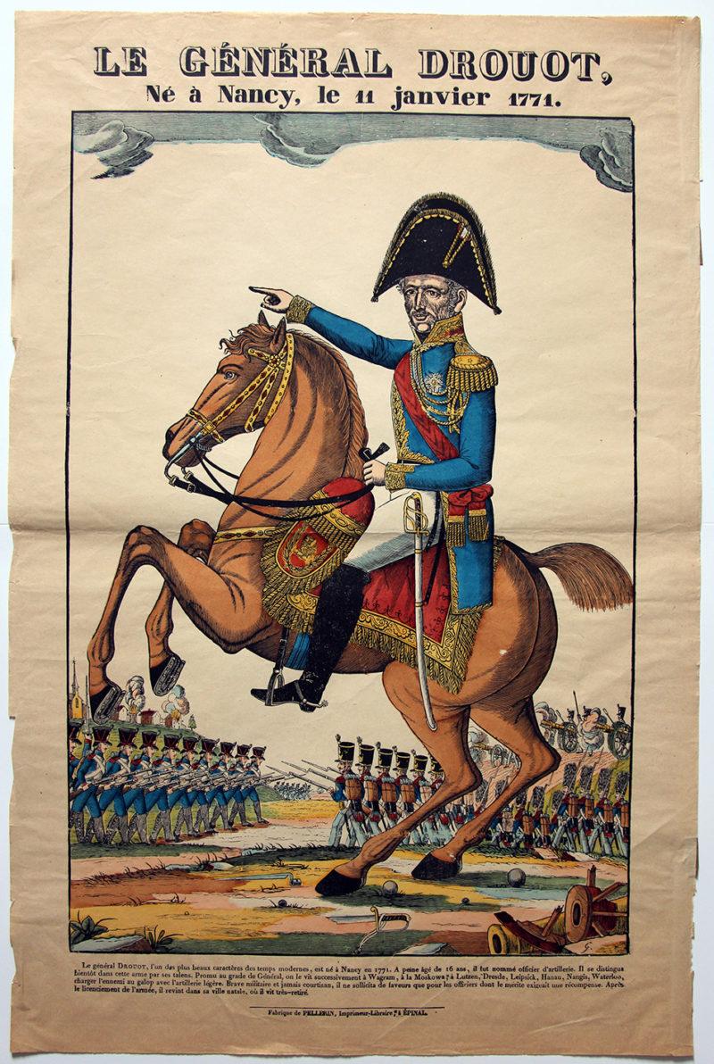 Grande Imagerie Pellerin – Général Drout - Révolution – Empire
