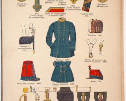 Lienhardt et Humbert - Uniformes de l'armée Française - TomeIII - Pl48 - Infanterie