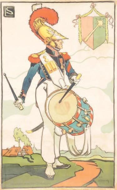 Léo Schnug Pompier 1840