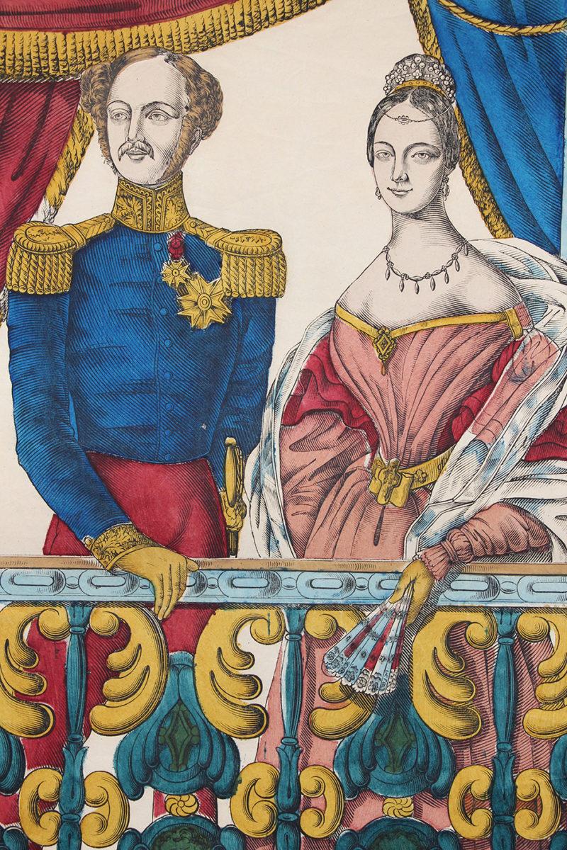 Grande Imagerie Pellerin - Duc D'Orléans / Princesse de Mecklembourg Mariage