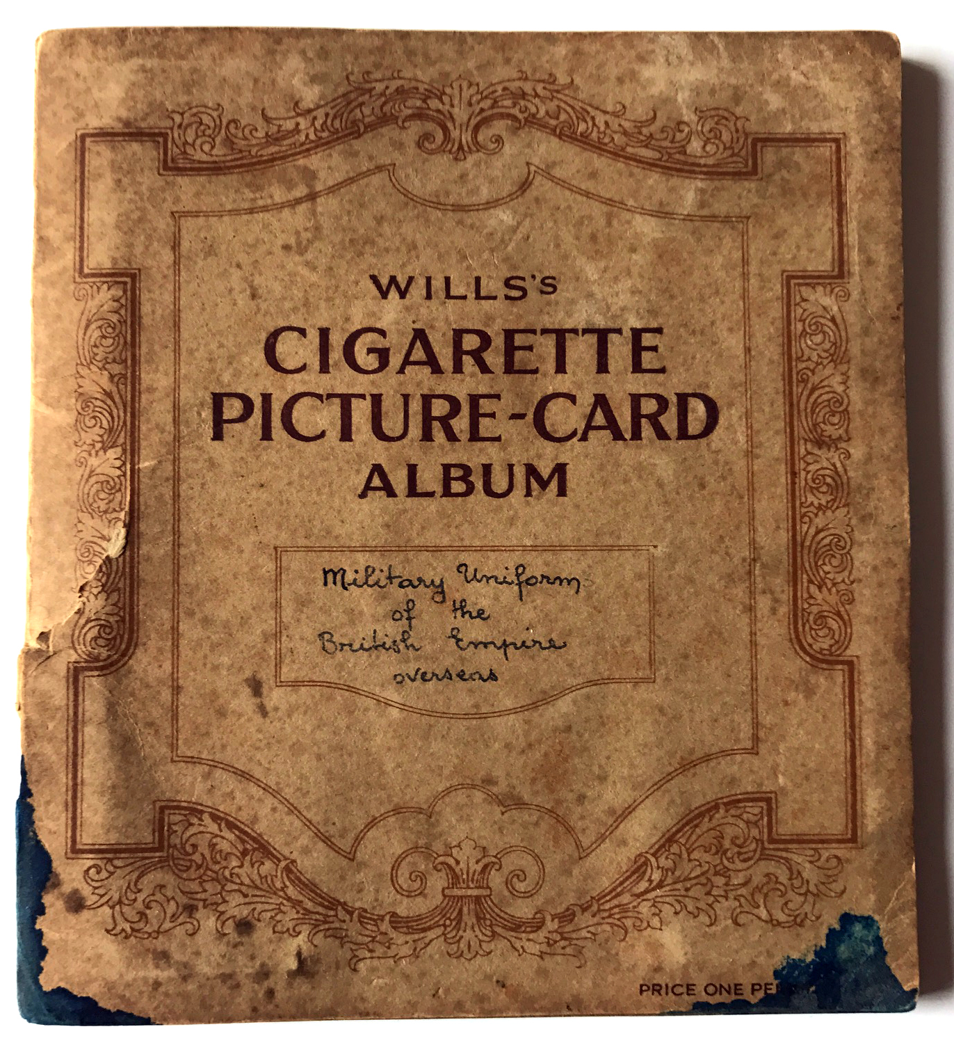 Cigarette Picture Card Album Wills's - Album de carte - Military Uniform of the British empire overseas