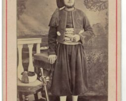 CDV Soldat Français - Armée Zouave - Uniforme - 3éme République - Baïonnette