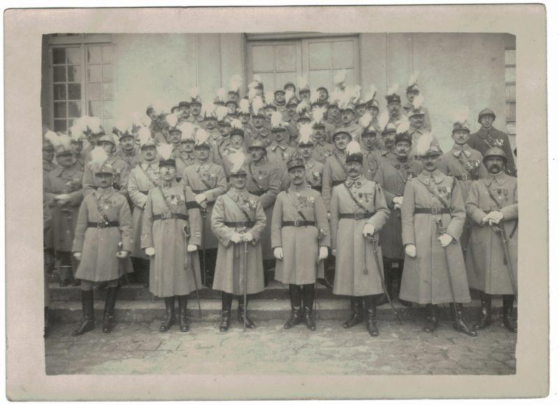 Photo - Arme Française 1920/1930 - Officiers Régiment - Décoration - Grande Guerre - Infanterie - Artillerie