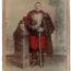 Carte CDV photo - Grand format - Soldat Cuirassier 3 République - Tours - 8eme Cuirassier