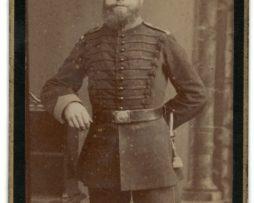 CDV Soldat Allemand / Alsacien - Armée Infanterie Régiment N°92 - Grande tenue - Brunswick - Metz