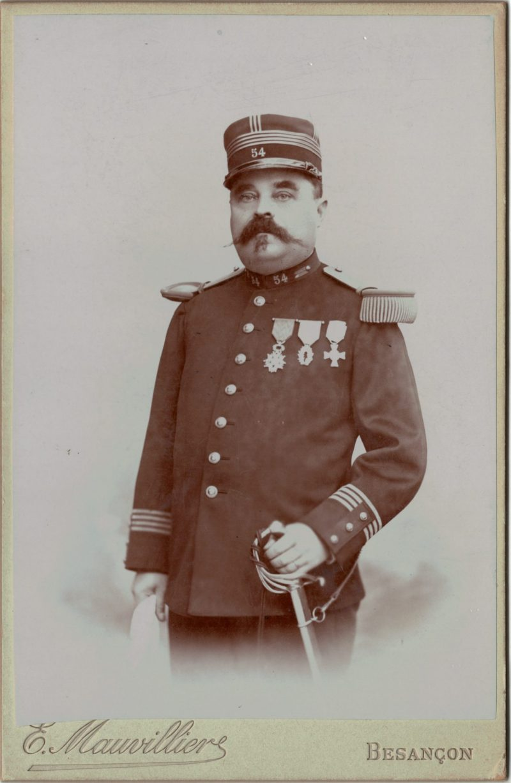 CDV_infanterie_Officier_3e_République