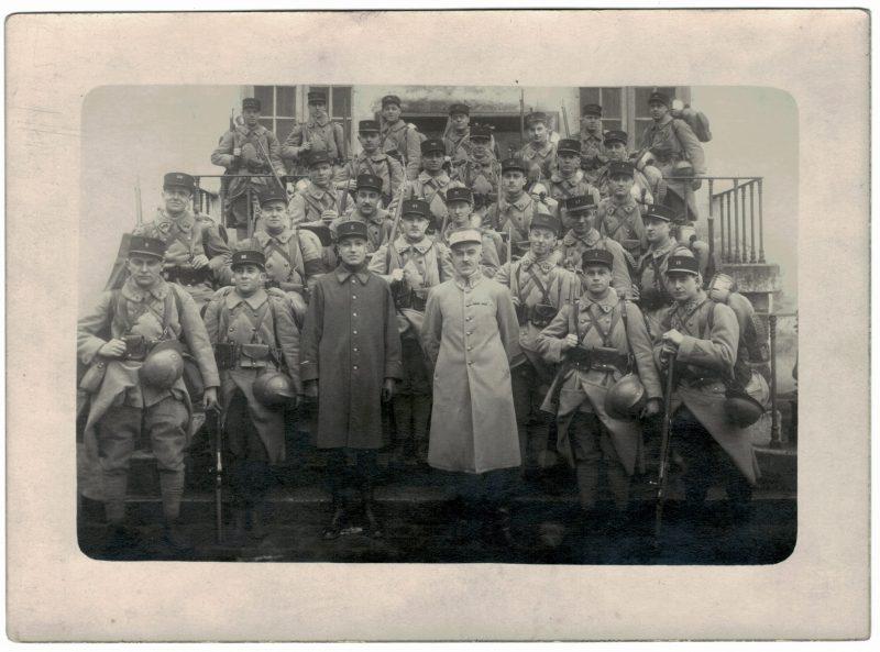Photo - Arme Française 1920/1930 - Soldats Régiment -Paquetage - Grande Guerre - Infanterie - Artillerie - Troupe de marine
