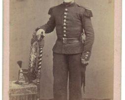 CDV Soldat Français – Infanterie – Uniforme – 2nd empire – Sabre – Shako