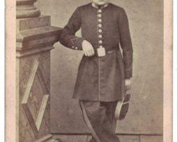 CDV Enfant de troupe ou école militaire - Uniforme - 2nd empire - Colmar -