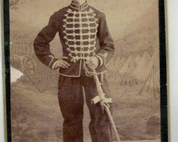 CDV Soldat Français - Armée Corps de Remonte - Uniforme - 3éme République - 8eme Régiment