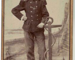 CDV Soldat Français - Armée Infanterie de marine - Uniforme - 3éme République - Equeurdreville / Cherbourg