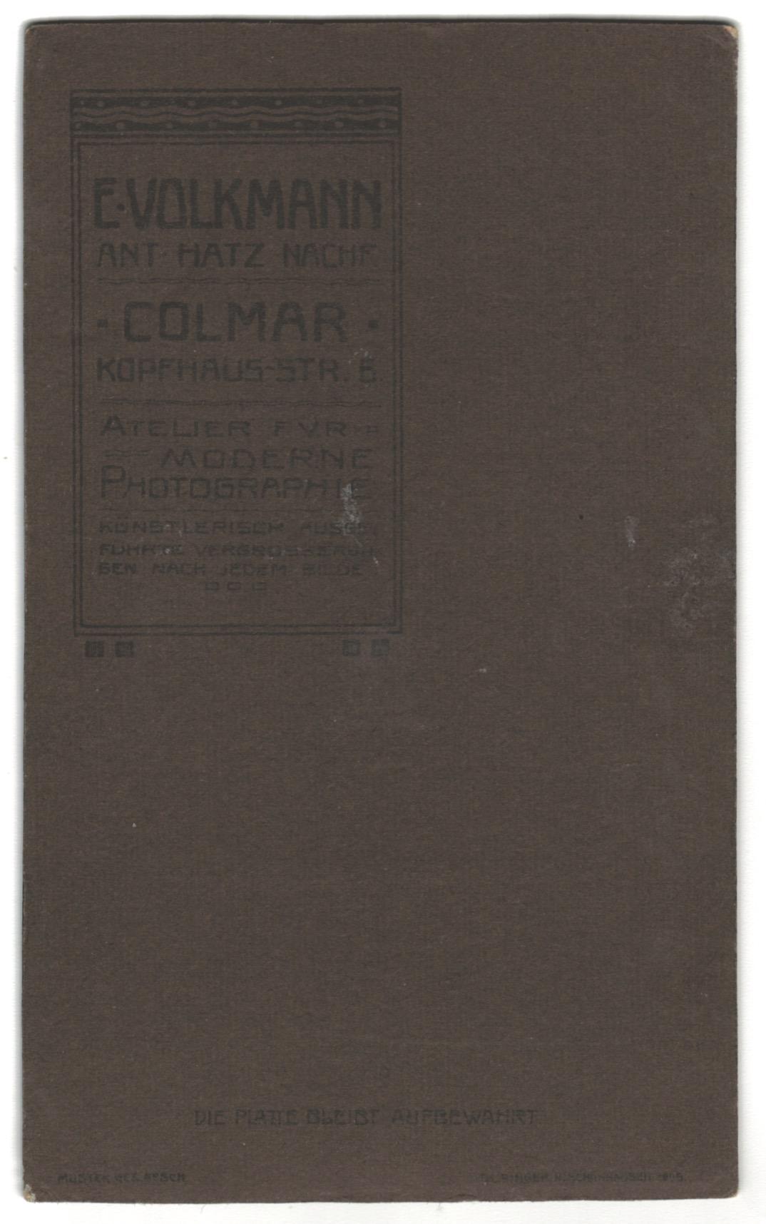 CDV Soldat Allemand Gefreiter - Armée Cavalerie - Grande tenue - Casque a pointe - Chasseur à Cheval 1905 - Mounted Jäger Régiment n°3
