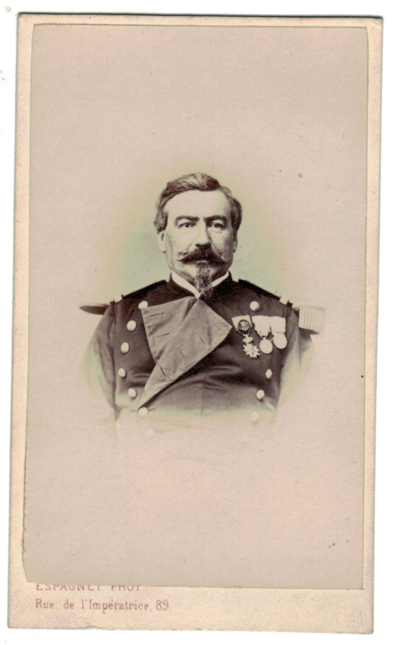 CDV Soldat Français - Infanterie - Officier - Uniforme - 2nd empire - Légion d'honneur