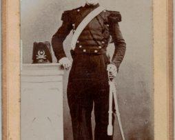 CDV Soldat Français - Artilleur - Uniforme - 2nd empire - Sabre - Shako - 6 régiment d'artillerie