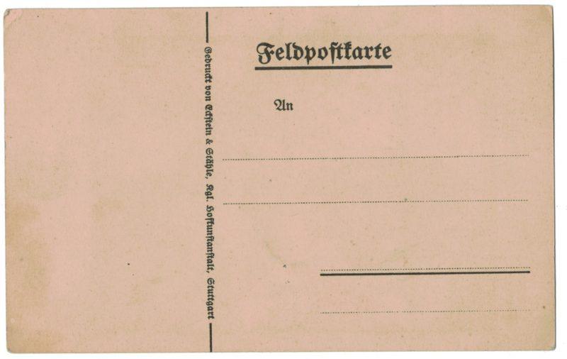 Carte Postale Allemande Lithographie - iconographie 14/18 - Helft uns Siegen ! - Fritz Erler