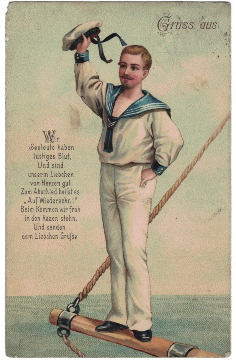 1 Carte Postale - Armée Allemande en campagne - Gruss aus - Manövre - 1912 - Marine Seeleute