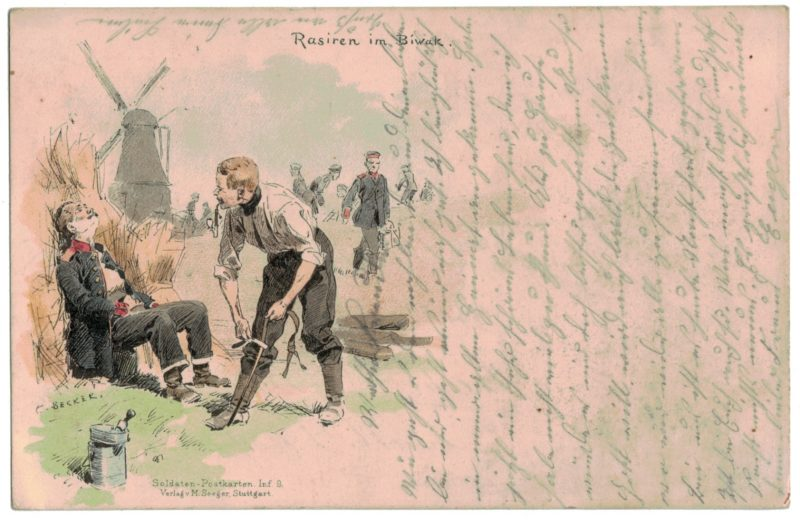 1 Carte Postale - Armée Allemande en campagne - Gruss von - Manövre - 1914 - Arlon Belgique