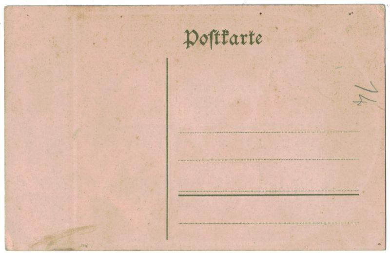 Carte Postale Allemande Lithographie - iconographie 14/18 - Rote Kreuz