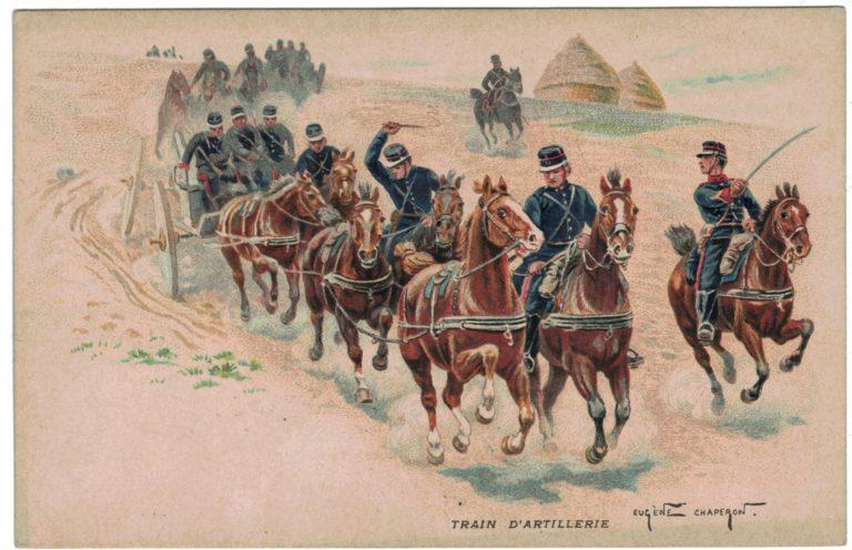 Série 3 Cartes Postale - Eugene Chaperon - Armée Française - Uniforme - 3ème République - La vie instruction