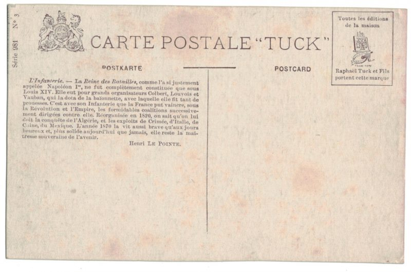 Série 8 Cartes Postale - Armée Française en campagne - 14/18 - Uniforme - Bivouac - Editions Tuck -