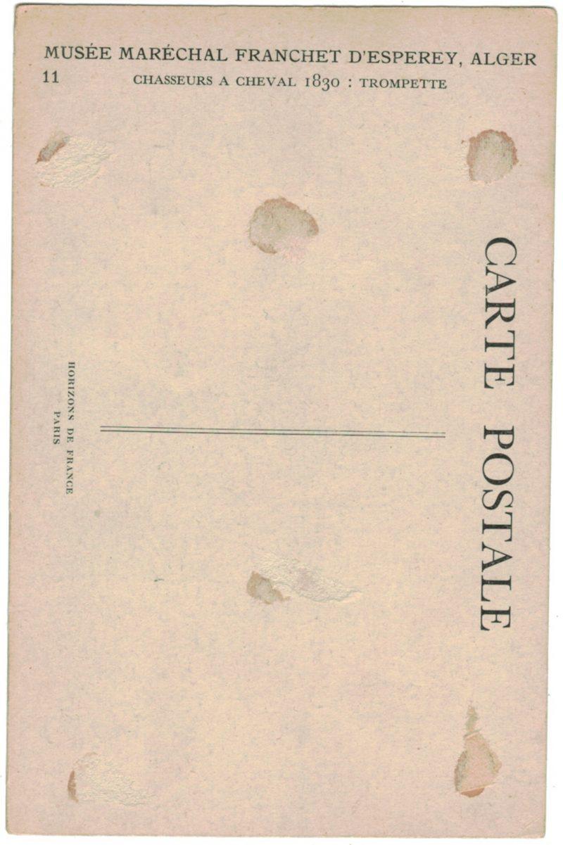 Série 19 Cartes Postale - Armée Française en campagne Algerie - MUSEE MARECHAL FRANCHET D'ESPEREY ALGER