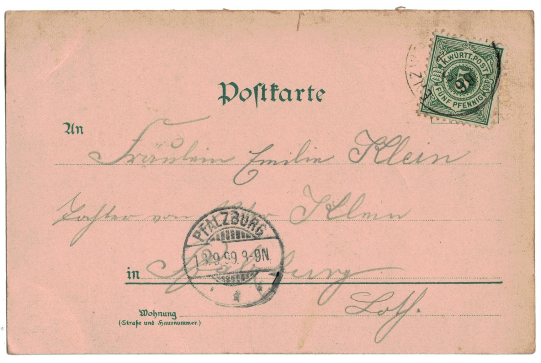 1 Carte Postale - Armée Allemande en campagne - Gruss von der Kaiserparade - Manövre - 1899
