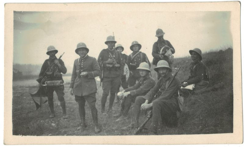 3 Photos papier originale - Infanterie Coloniale - Orient - Coloniale - 1939 - Vietnam - Haiphong