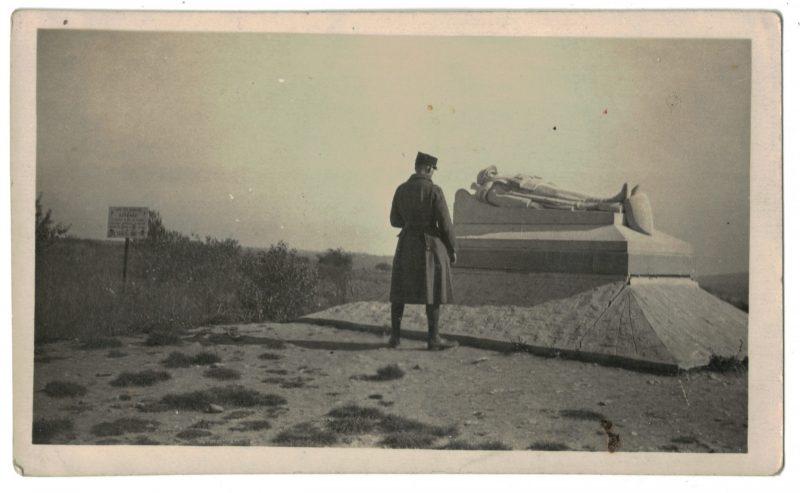 Photo papier originale - Mémorial - Verdun - 1931 - Souvenir - 14/18 - Zone Rouge