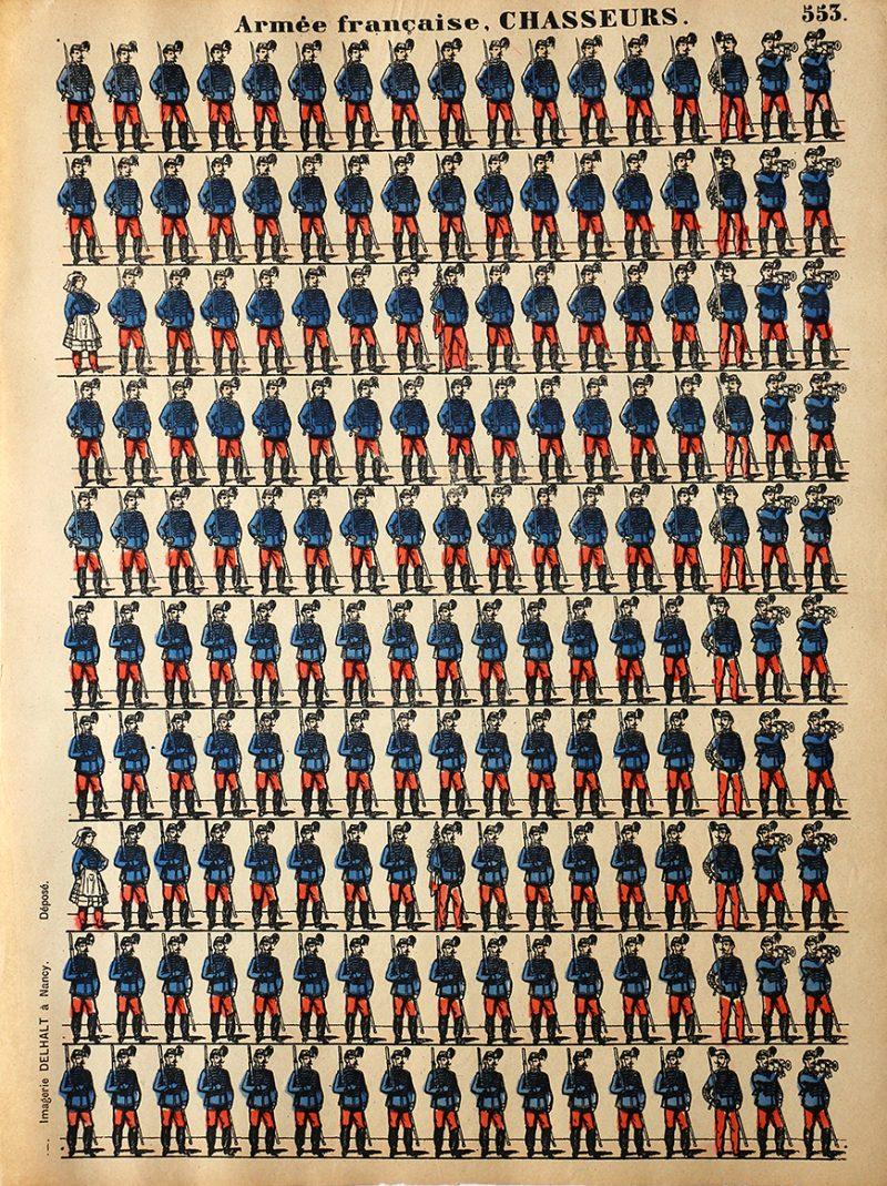 12 Planches Imagerie Dehalt Nancy - Imagerie Populaire - N°552/553/554/555/556/557/558/559/561/562/563/565 - Armée Française - Hussards - Chasseurs - Spahis - Zouaves - Infanterie -Turcos - Artillerie - Dragons - Gendarmes - Cuirassiers - Garde Républicaine - Artillerie - Génie - Chasseur d'Afrique - 3eme République