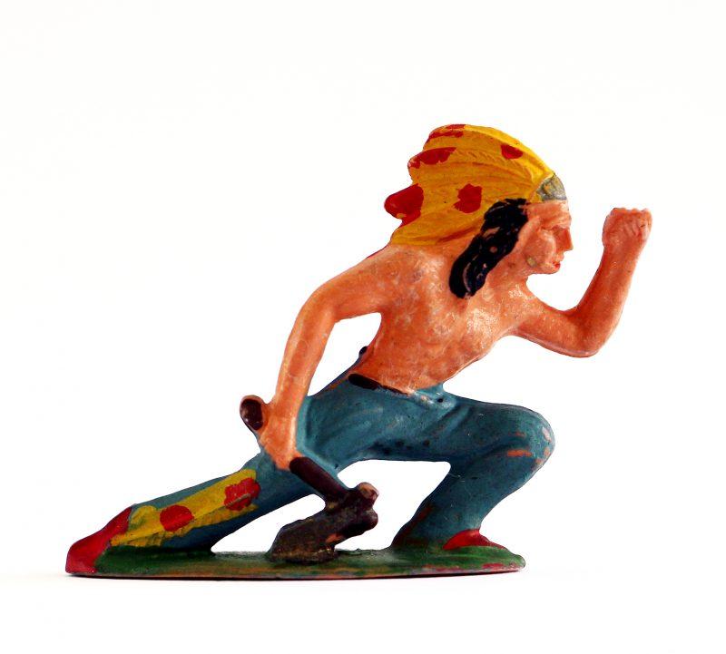 Figurine Starlux Cowboy Indien