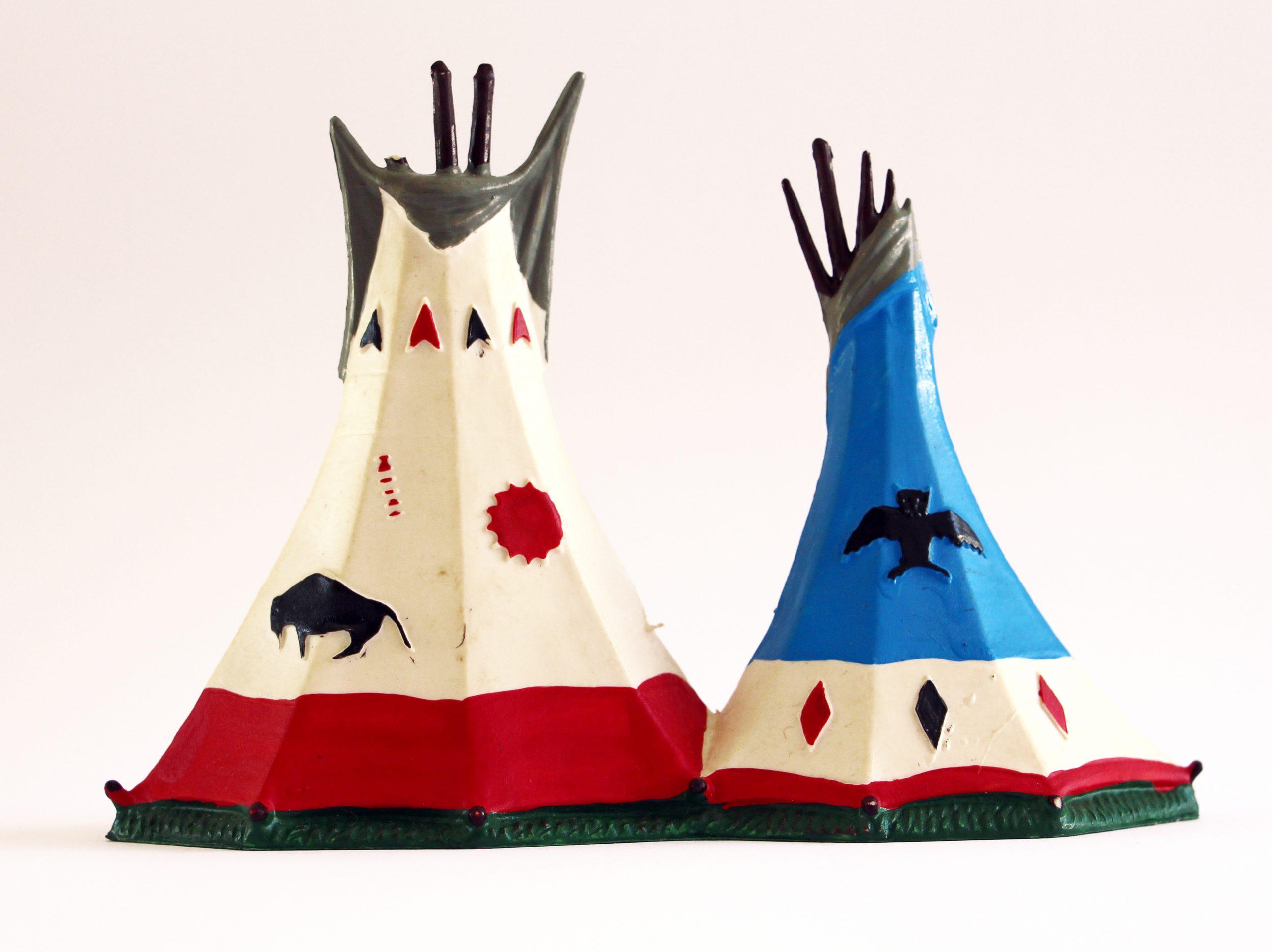 Figurine Starlux Typie Camp Indien des Plaines