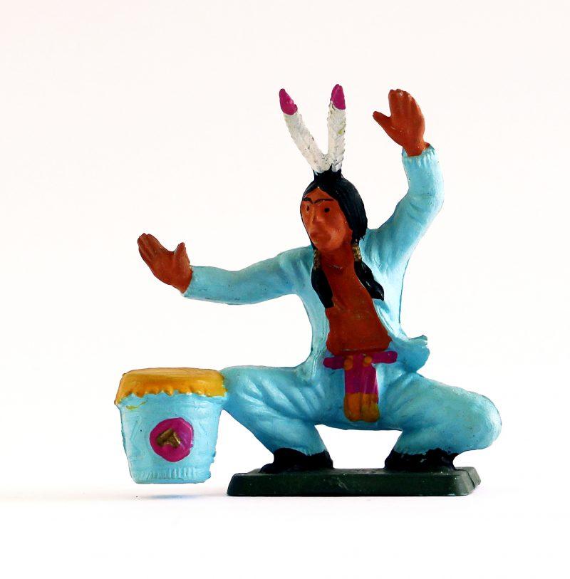 Figurine Starlux Indien Tam Tam Plaine Typie