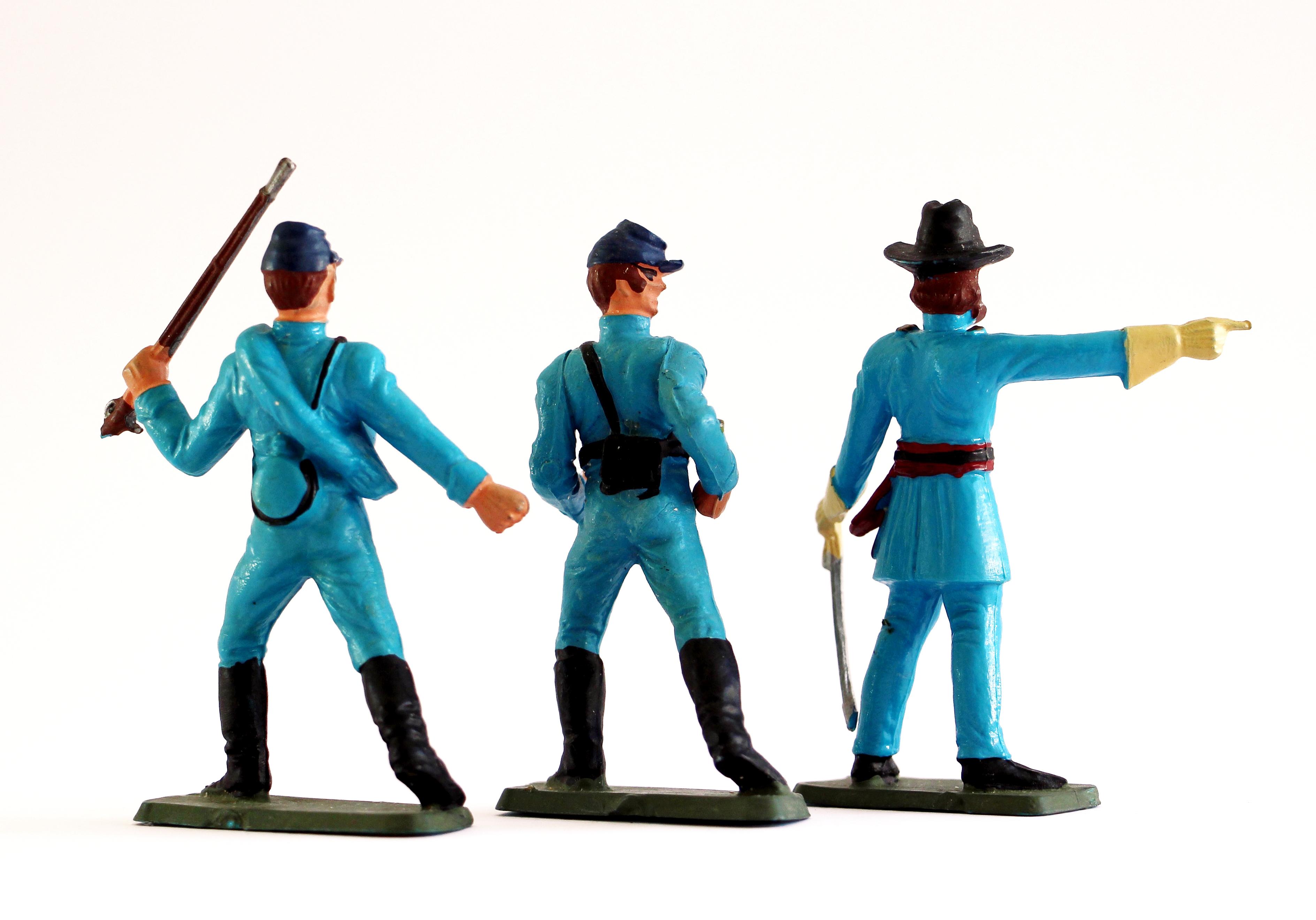 Figurine Starlux USA Nordiste Guerre de Secession