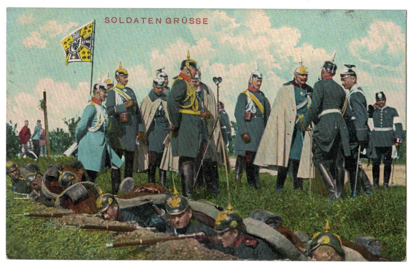 Série 45 Cartes Postale - Armée Allemande - Uniforme XIX - Guerre 14/18 - Campagne - Bivouac - Manoeuvre