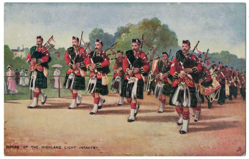 Série 12 Cartes Postale - Armée Anglaise - Uniforme XIX - Guerre 14/18
