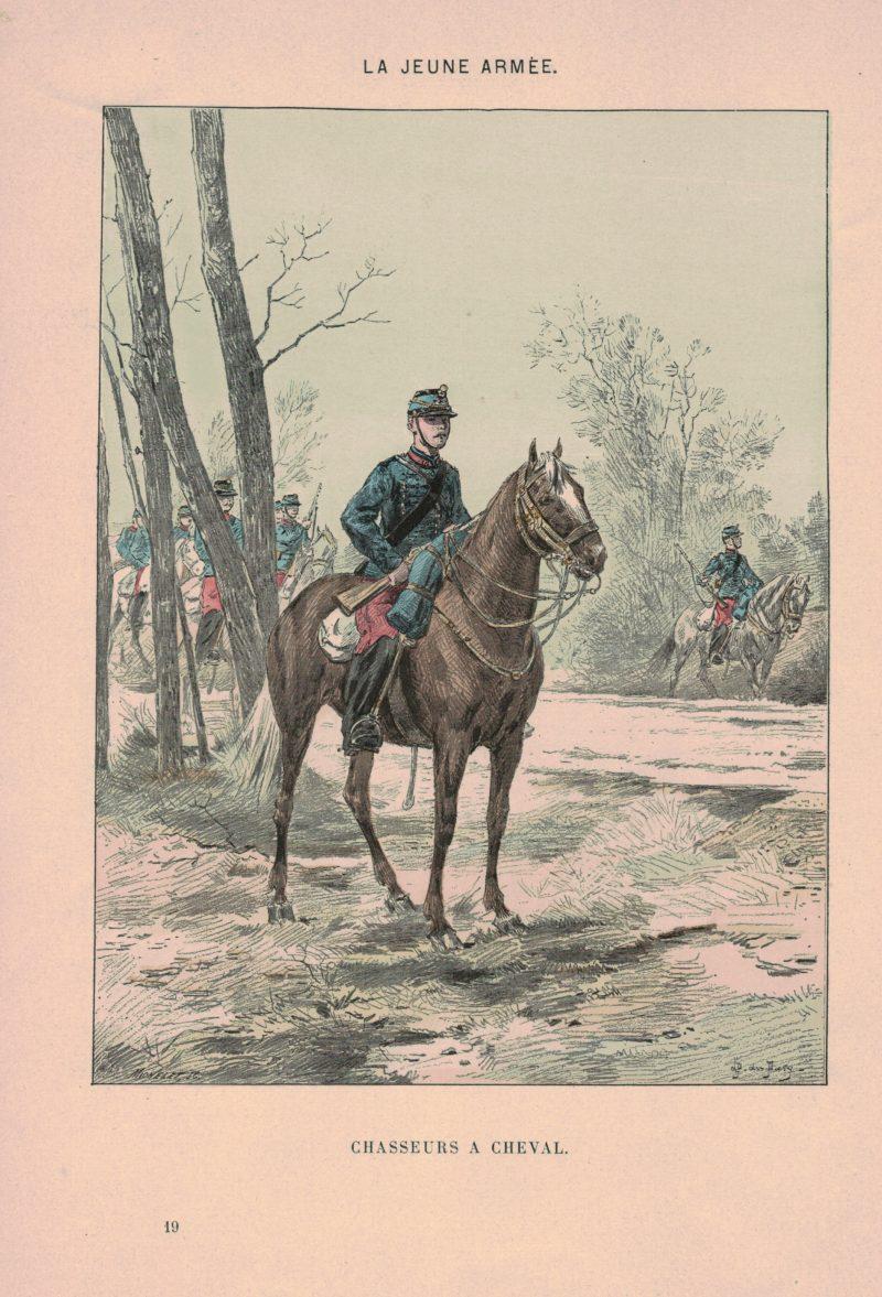 Armée Française 3ème République - La jeune armée - Illustrations Uniforme - Soldat - 1898