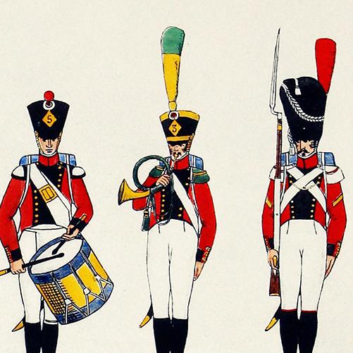 3eme Régiment d'Infanterie Suisse J.E.Hilpert - Le Passepoil