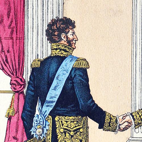 Costume des Généraux a la Cour 1812- J.E.Hilpert - Le Passepoil