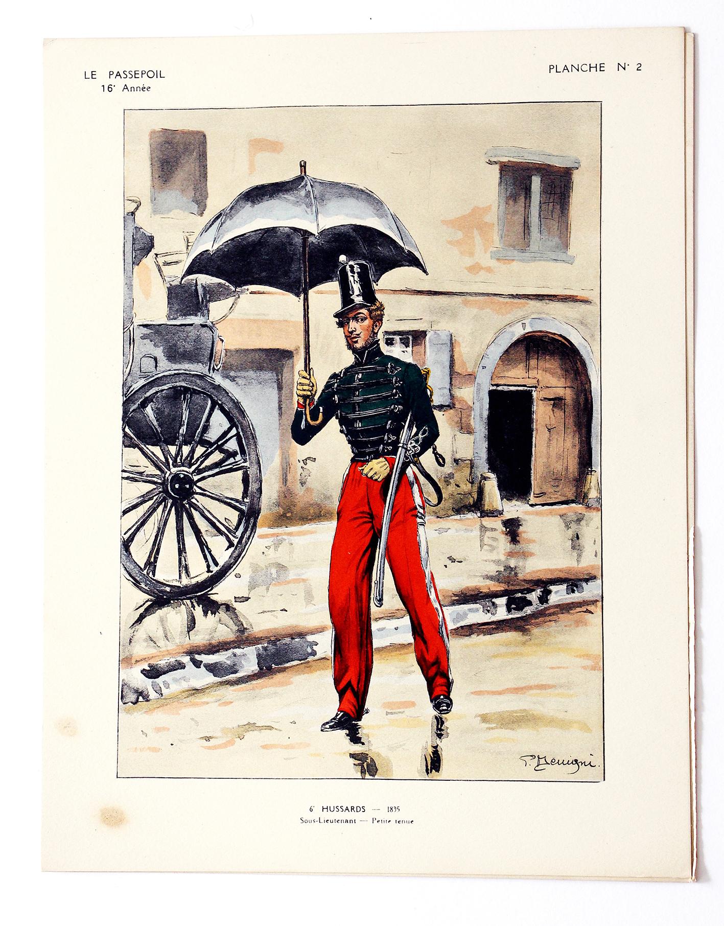 6e Hussards - 1830 - Pierre Benigni - Le Passepoil